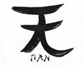 Ideograma Tian