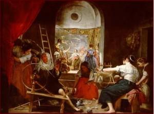 Las hilanderas_Velázquez